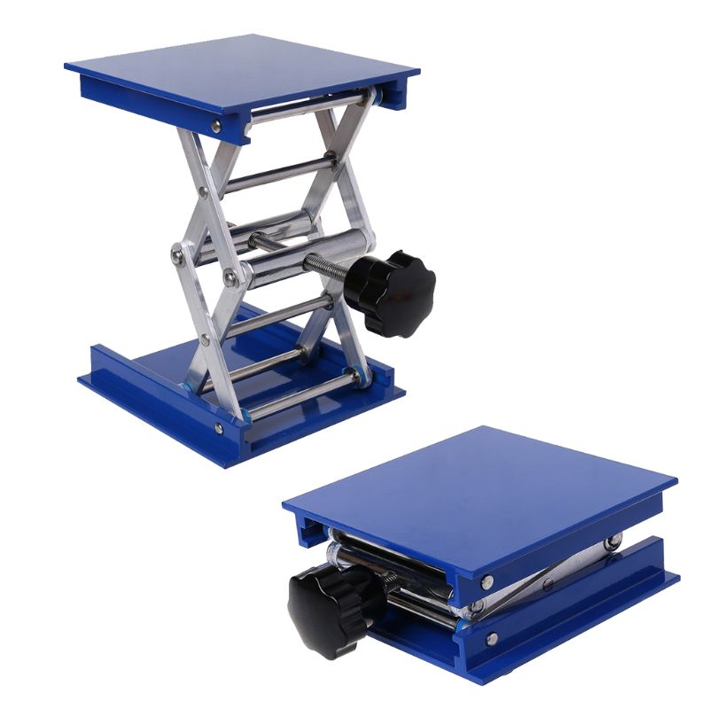 """4""""x4"""" Aluminum Router Lift Table Woodworking Engraving Lab Lifting Stand Rack"""