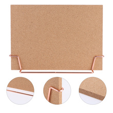 Cork-Board Wooden Pin No for Home Office