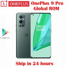 Resmi yeni orijinal Oneplus 9 Pro 5G cep telefonu Snapdragon 888 6.7 inç LTPO AMOLED 48MP kamera NFC 4500mah 65W süper şarj