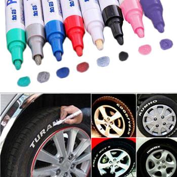 Paint Cleaner Car Wheel Tire Oily Painting Pen Auto Rubber Tyre Polishes Metal Permanent Marker Graffiti Touch Scratch TSLM1 image