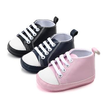 Dla dzieci buty buciki dziecięce niemowlę maluch buty dziewczyny chłopak na co dzień miękkie buty wygodne antypoślizgowe buty Unisex noworodka po raz pierwszy Walker tanie i dobre opinie insular Patch COTTON Wszystkie pory roku Slip-on Pasuje prawda na wymiar weź swój normalny rozmiar Stałe Support casual simple cute