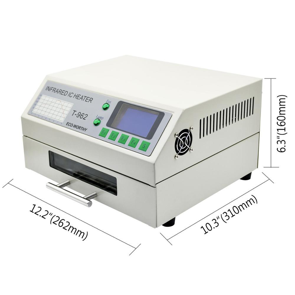 DC HUIS 220V T-962 Reflow Oven Infrarood IC Heater Soldeerstation - Lasapparatuur - Foto 2