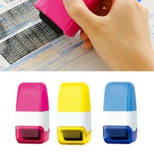 Home Useful Stamp Seal Roller Theft Protection Code Guard Your ID Confidentiality Confidential