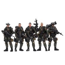 Figures Soldier Military-Model Army 1/18-Joytoy Collectible-Toy Anti-Terrorism-Unit Christmas-Gift