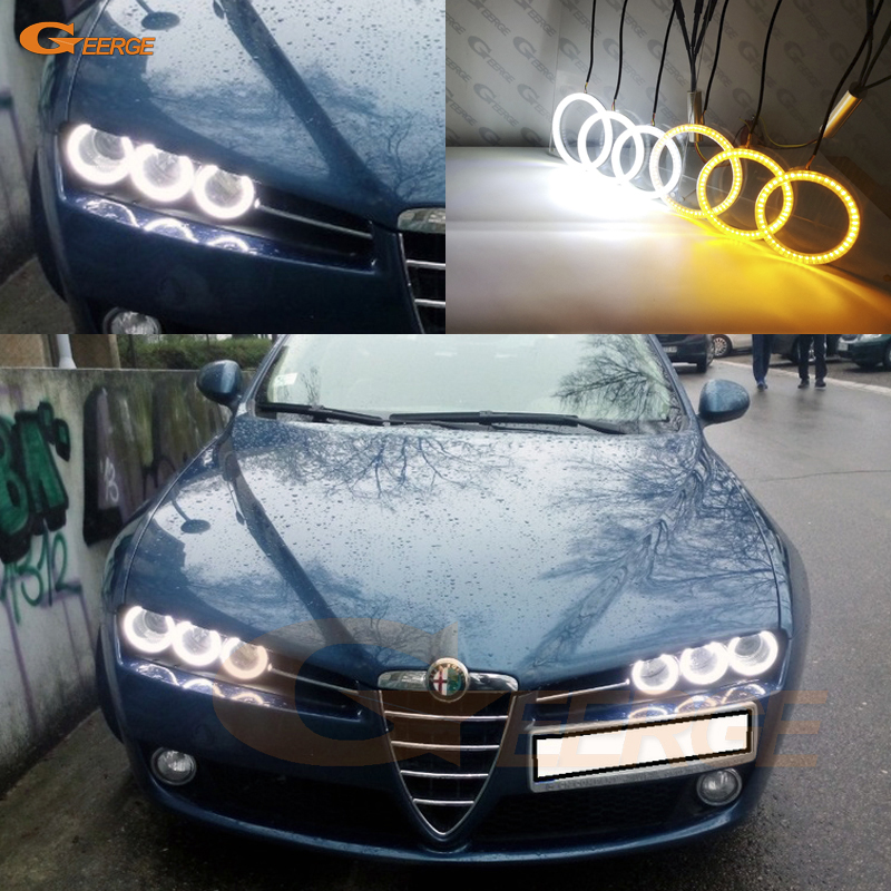 Alfa Romeo 147 156 ultra Xenon Headlight Bulbs h7 free 501