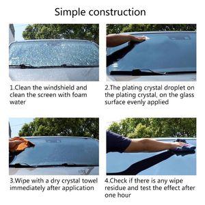 Image 5 - Window Super Hydrophobic Glass Coating Ceramic Car Coating For Windshield Water Repellent Waterproof Coating