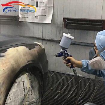цена на HYVST Professional HVLP Air Spray Gun Paint Sprayer 600ml Gravity Feed Airbrush Kit 1.4 1.7 2.0mm Furniture Painting Spray Tool