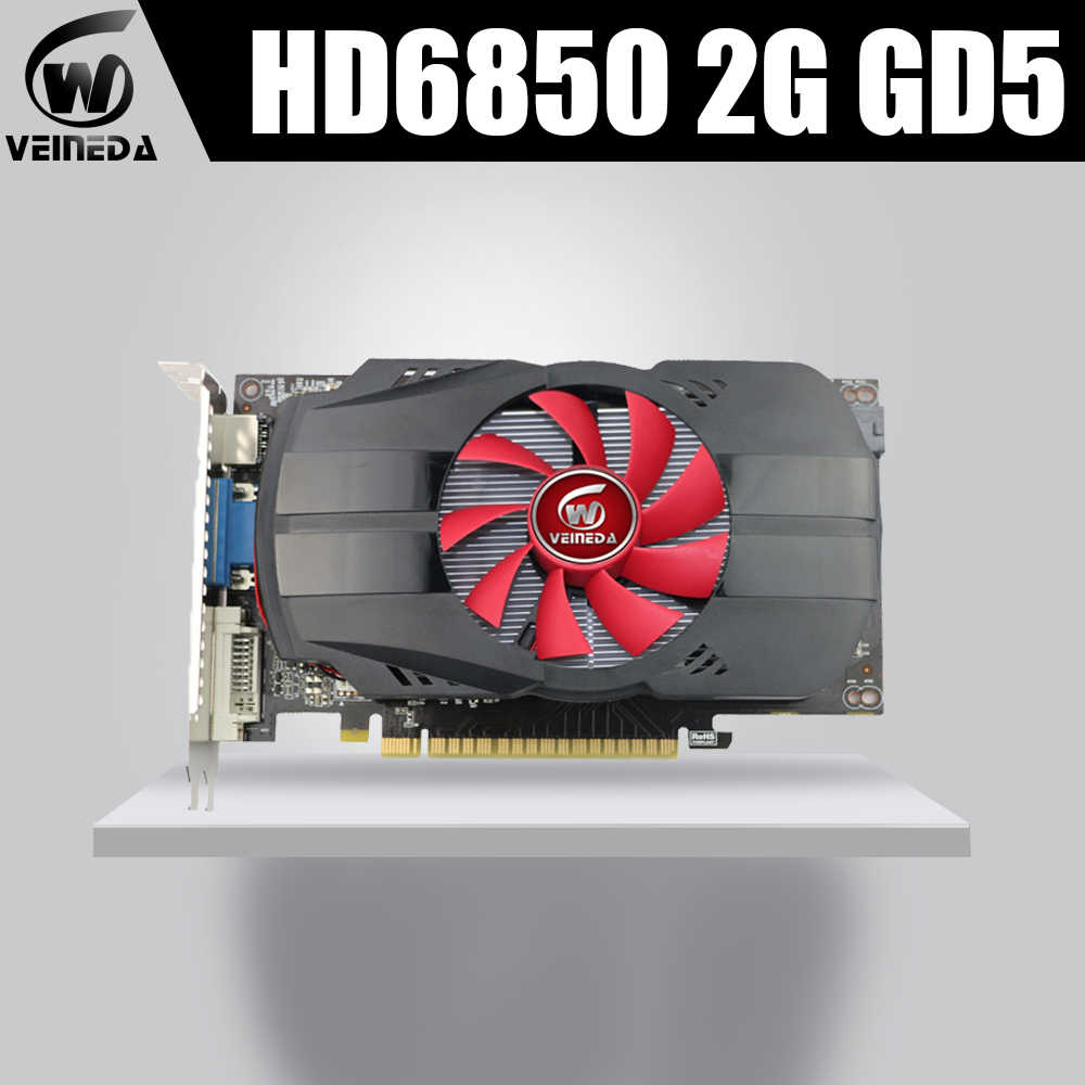 HD6850 2GB GDDR5 256Bit Card đồ họa GeForce iGame HD6850 Card màn hình GeForce HDMI DVI