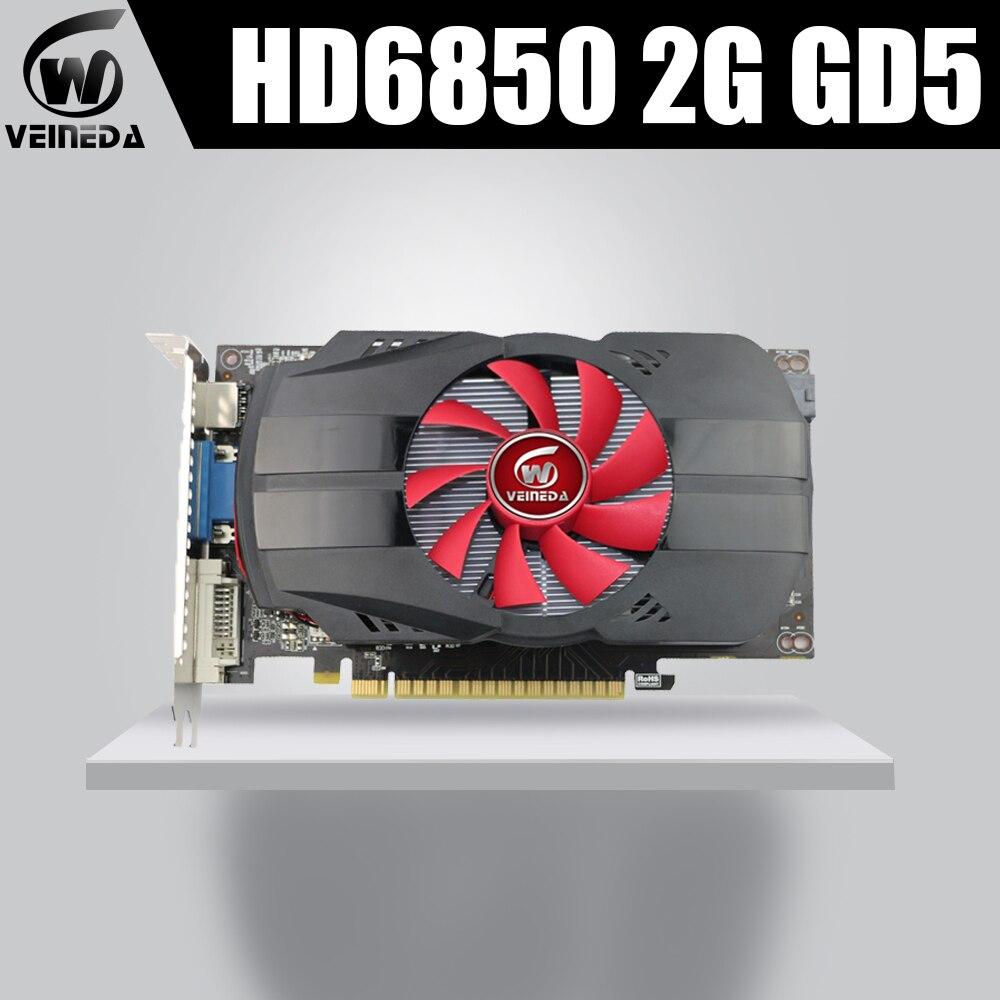 HD6850 2GB GDDR5 256Bit GraphicsCardGeForce IGame HD6850 VideoCard Geforce Hdmi Dvi