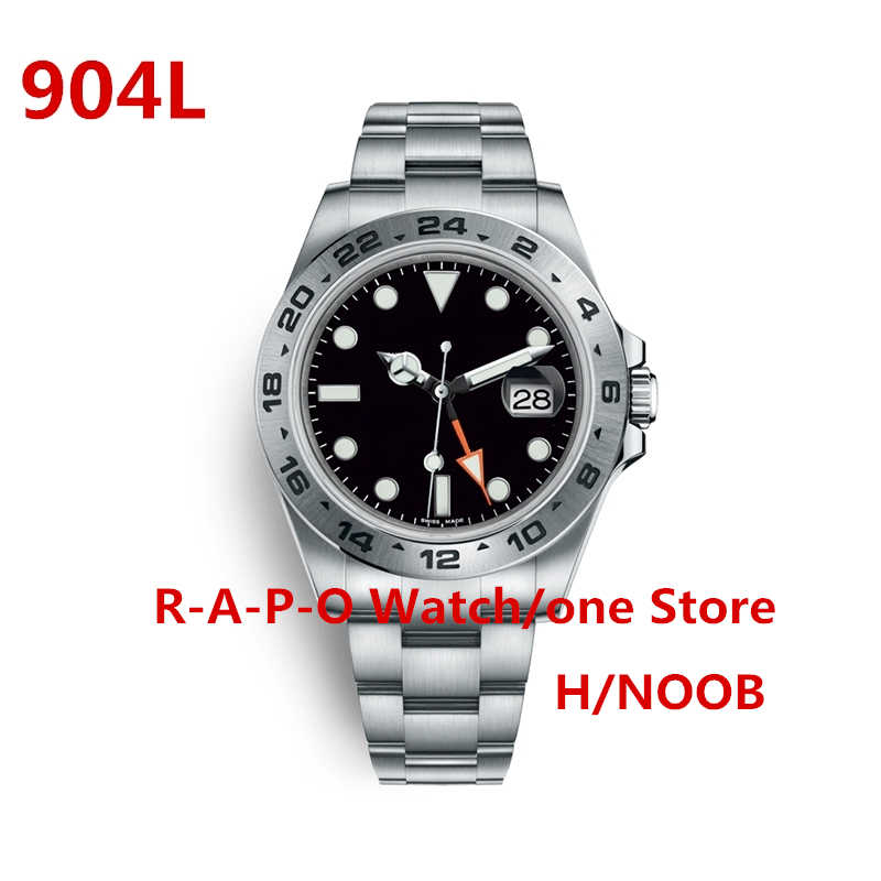 904L หรูหราอัตโนมัตินาฬิกาสแตนเลส Sapphire ผจญภัยกลางแจ้งนาฬิกา H Noob