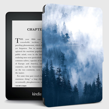 Stand Case for Kindle Paperwhite 1/2/3 Case PU Leather E reader Cover for Capa kindle Paperwhite 4 10th 2018 Protective Shell|Tablets & e-Books Case| |  -