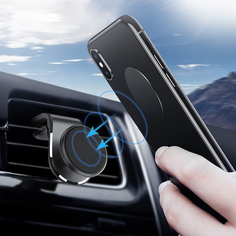 Lovebay 360 Degree Magnetic Car Phone Holder Stand Air Vent Mount Dashboard GPS In Car Mobile Phone Universal Stand For Iphone