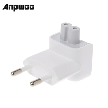 ANPWOO New Arrival US to EU Plug Travel Charger Converter Adapter Power Supplies for Apple MacBook Pro / Air iPad/ iPhone HR - discount item  25% OFF Transmission & Cables