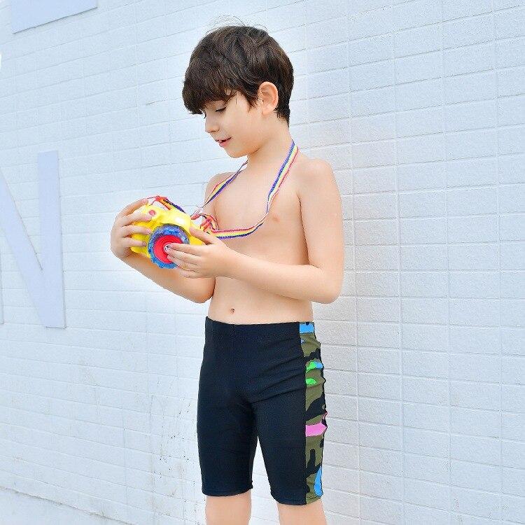 2017 New Style KID'S Swimwear BOY'S Big Boy 6-15-Year-Old Camouflage Short AussieBum