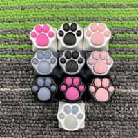 DF y aluminio silicona gatito pata artesanal Keycap gato pad Compatible con interruptores Cherry MX de Keycap