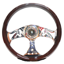 Steering-Wheel Quick-Release Classic-Design 15inch-380mm Universial Bmw Car Retro