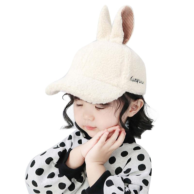 Autumn And Winter Animal Ear Polka Dot Hat Multicolor Series Children/'S Cap EG
