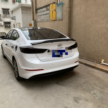 for Hyundai Elantra auto parts spoiler carbon fiber / FRP material primer spoiler 2012-2016 Elantra rear spoiler