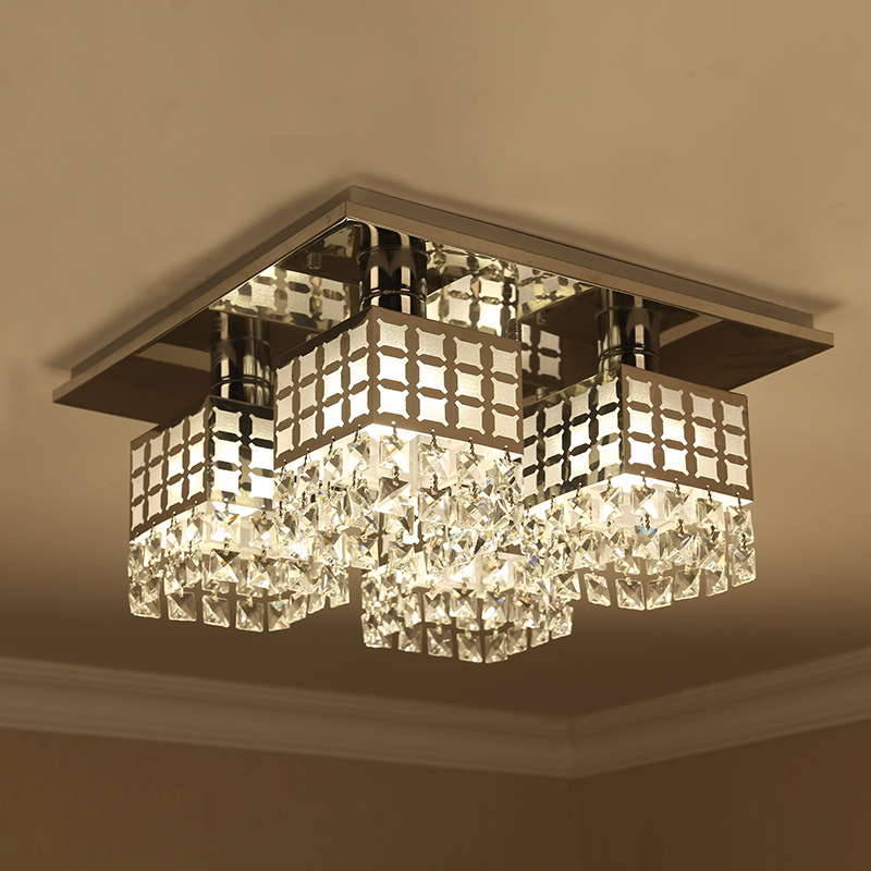 Chrome Finish Interior Ceiling Lamp