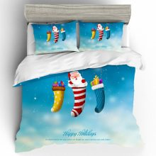 Home Textiles Bed Linen Set Punk Christmas Quality 3D Couple King Size Luxury Bedding Duvets And Sets Cotton