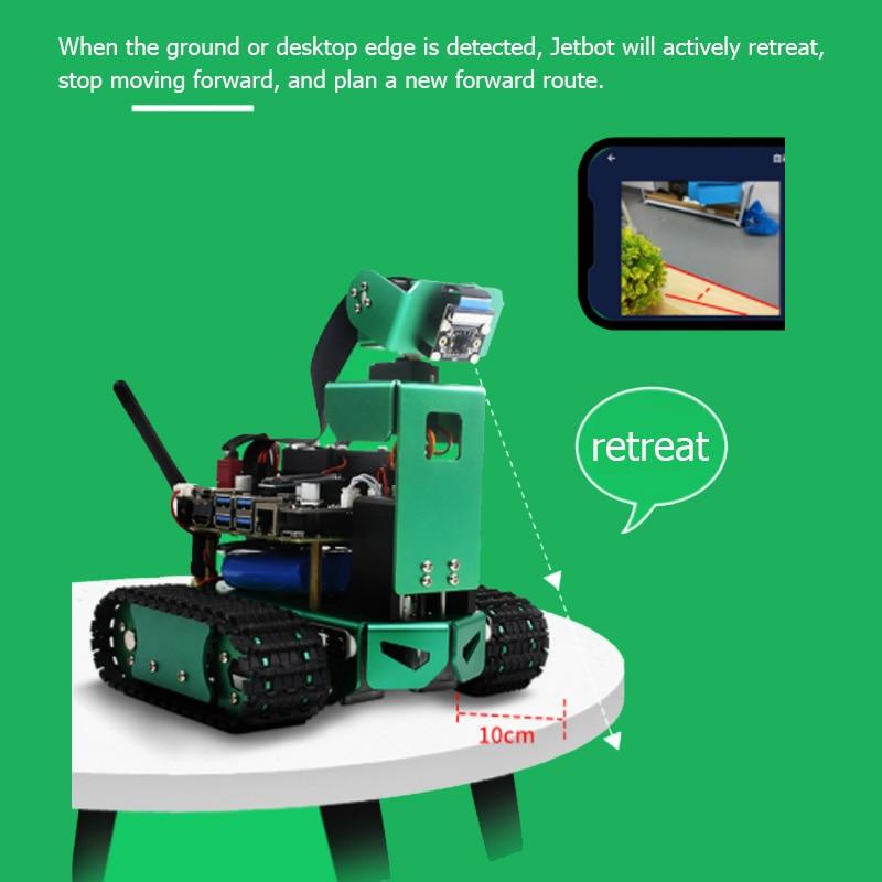 JETBOT Artificial Intelligence Car Jetson Nano Vision AI Robot Automatic Driving Development Board Kit