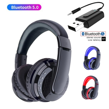 Wireless Headphone and For TV Computer PC PS4 Gamer Earphone Blutooth Transmit Stereo Music Helmet Noise Cancel Headset With Mic computer pc gamer headphone with mic led light noise cancel loud sound phone gaming headset for ps4 earphone music stereo helmet