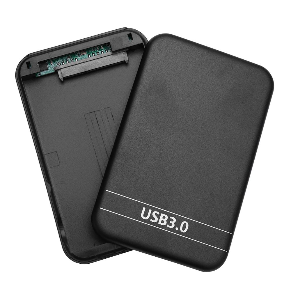 Portable <font><b>HDD</b></font> Case <font><b>2.5</b></font> inch SATA 2 to <font><b>USB</b></font> <font><b>3.0</b></font> Enclosure 6Gbps External SSD Hard Disk Drive Box for Windows 98/SE/ME/2000/XP/Vista image