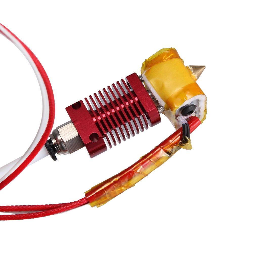Buse de Kit d'extrémité chaude d'extrudeuse assemblée par MK8 adaptée à la créalité 3D CR10 PUO88