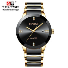 TEVISE brand watches men quartz business fashion casual