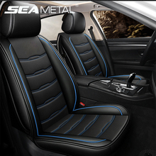Full Set Car Seat Covers Universal Fit for 5 Seats Vehicle Vans Truck SUV PU Leather Surrounded Auto Chair Cover Car Accessories