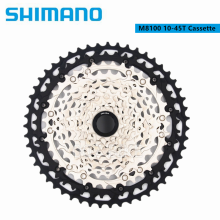 Shimano SLX XT M8100 M7100 M6100 Cassette 12 speed 10-51T 10-45T Cassette Freewheel Mountain Bike MTB 12 Speed Bicycle Parts