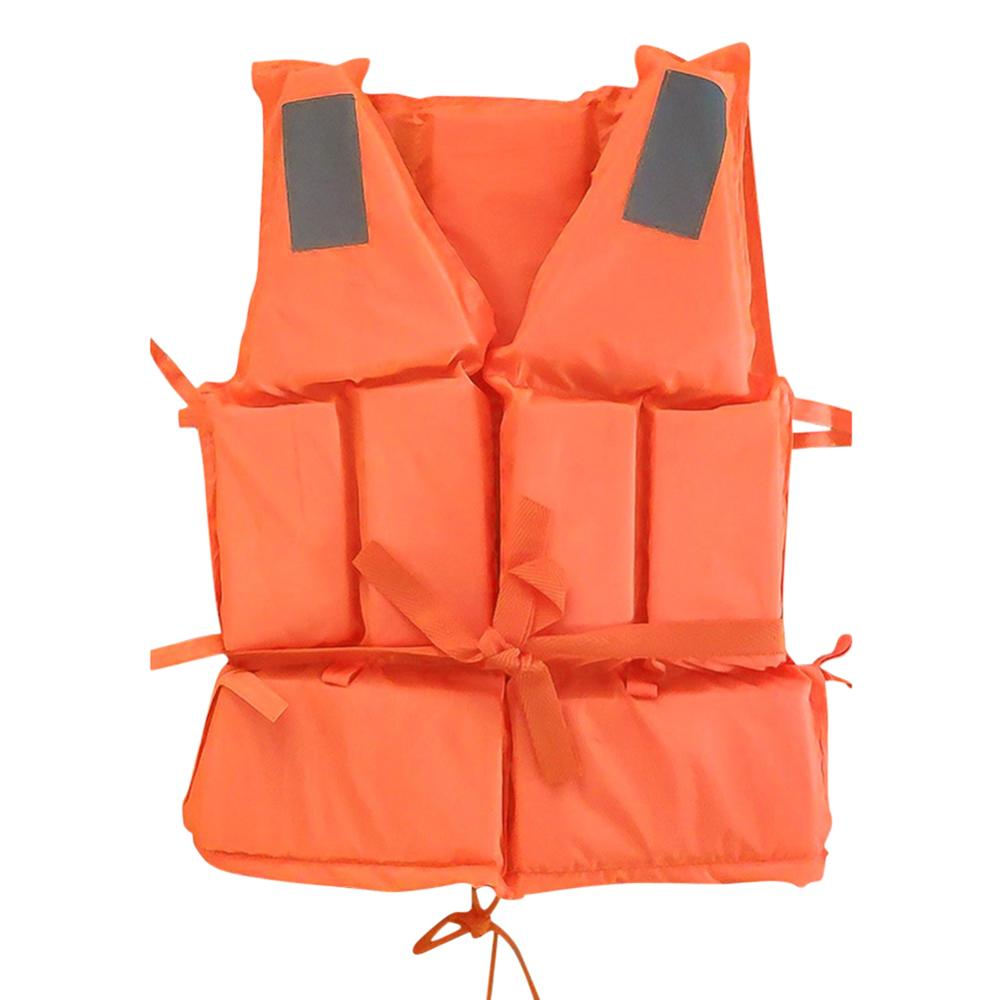 Professional Adult Life Jacket Swimming Boating Ski Drifting Surfing Water Sport Life Vest Adjustable Swimwear With Whistle