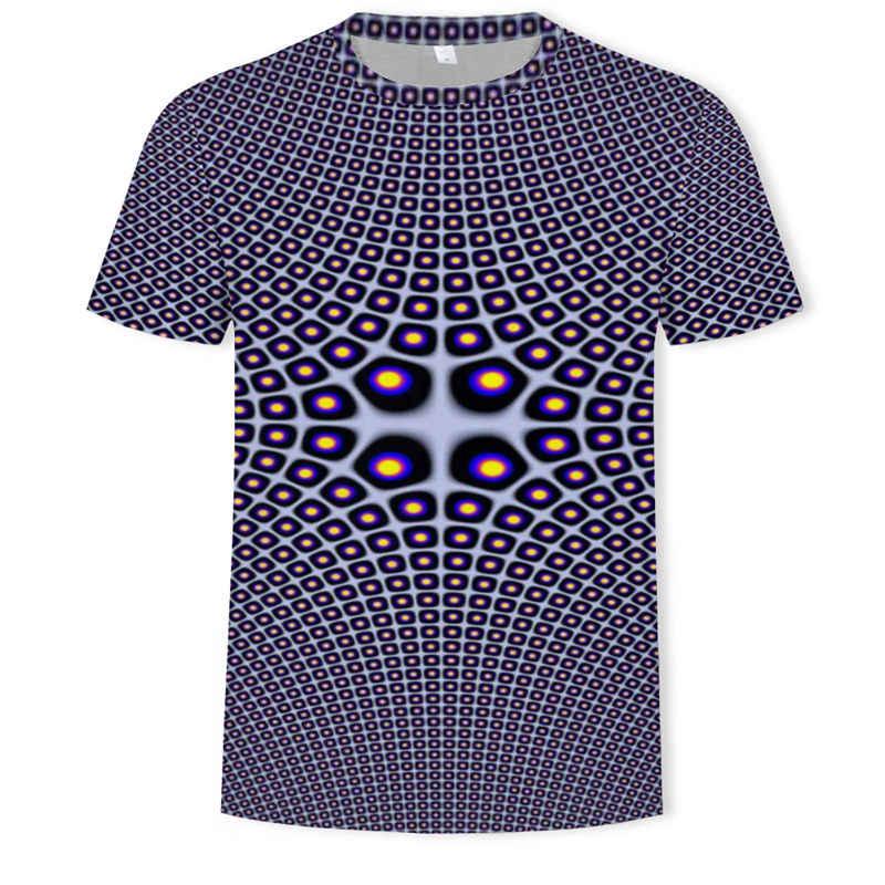 2019 di Estate dei Nuovi Uomini di 3DT Camicia di Modo T-Shirt Top Fresco 3D Hip Hop T-Shirt di Marca Delle Donne Degli Uomini Unisex di Estate magliette e camicette Tee T-Shirt