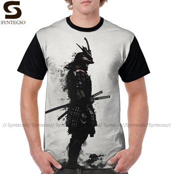 Warrior T Shirt Armored Samurai T-Shirt Funny Polyester Tee Shirt Fashion XXX Graphic Men Graphic Tshirt illuminati t shirt fashion brand dont trust anyone graphic tee letter print men t shirt casual funny shirt lw