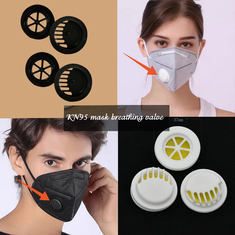 Cute Black Mask Dust-proof Hanging Ear Mask Personalized Spoof Cross-border Breathable Mask 10/20pcs