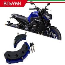 Para yamaha mt09 mt 09 xsr900 fz09 fj09 MT-09 tracer 2014 2015 2016 2017 motor da motocicleta guarda caso slider capa protetor