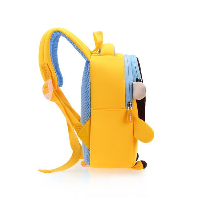 GREATOP 2021 New 3D Children School Bags for Girls Boy Children Backpacks Kindergarten Cartoon Animal Toddle Kids Backpack 5