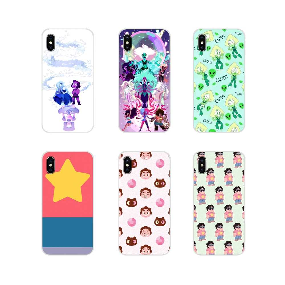 Zubehör Phone Cases Covers Steven Universe Für Apple iPhone X XR XS 11Pro MAX 4S 5S 5C SE 6S 7 8 Plus ipod touch 5 6