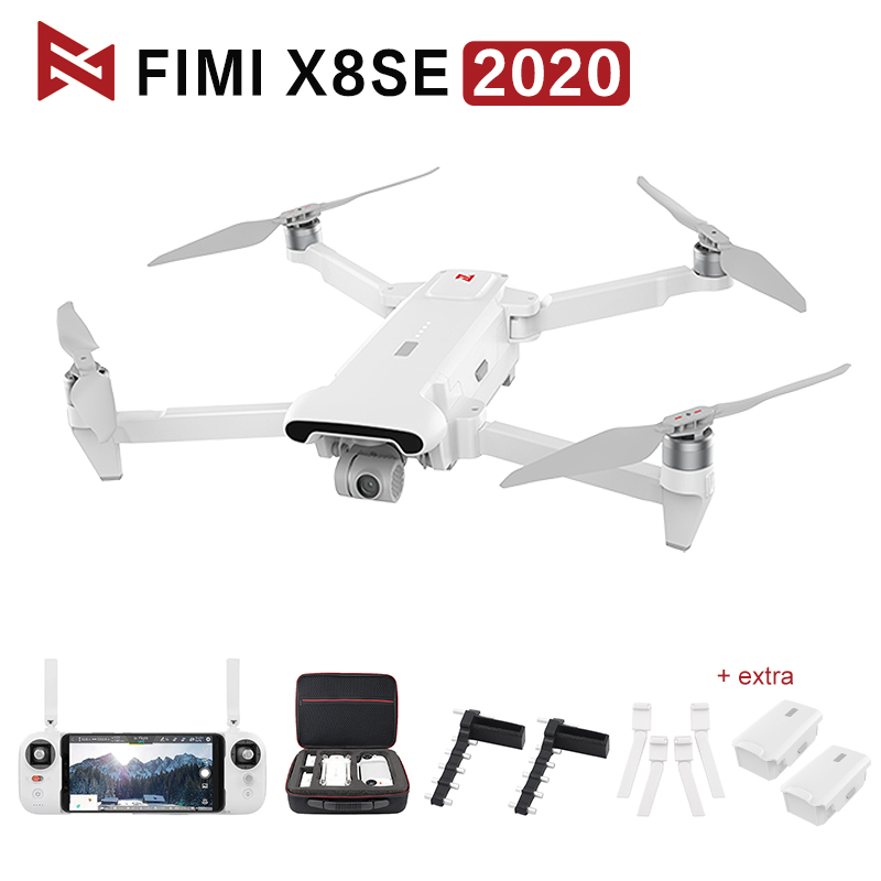 Original FIMI X8 SE 2020 RC Drone 3Axis Gimbal 8K Camera Quadcopter RTF Helicopter HDR GPS Positioning FPV 33min Flight X8 Bag