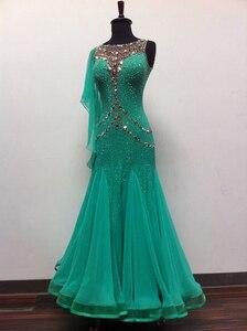 Продвинутый бальный конкурс танцевальное платье для женщин Высокое качество Профессиональная Вальс танцевальная юбка для взрослых станда...