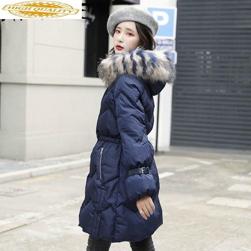 Jacket Women 90% White Duck Down Coat Winter Down Jacket Women Jacket Korean Puffer Jacket Casaco 8910 YY1286