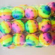 Rainbow Butterfly Stress Ball PU Stress Ball Foaming Children'S Educational Sponge 6. 3cm Fast Resilient Venting Bal Customizabl(China)