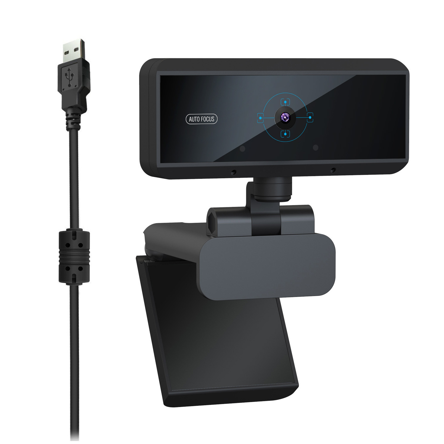 HXSJ HD 1080P Webcam Built-in Microphone Auto Focus High-end Video Call Computer Peripheral Web Camera for PC Laptop