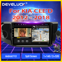 4G net Android 9.0 T3L PLUS For KIA Cee'd CEED JD 2012-2018 Car Radio Multimidia Video Player Navigation GPS 2G+32G DSP 2din