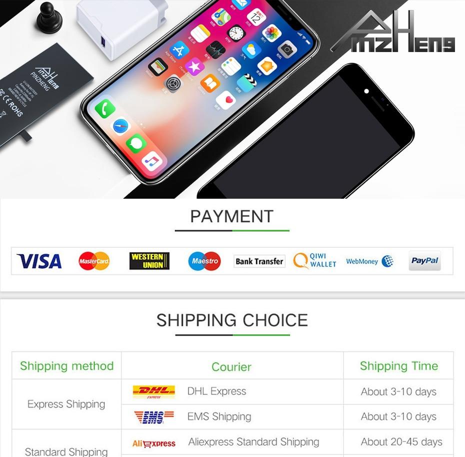 PINGZHENG 1pcs Waterproof Phone Sticker For iPhone 7 6s 8 Plus X XS MAX XR Sticker LCD Screen Tape Adhesive Glue Tape Repair Set (15)