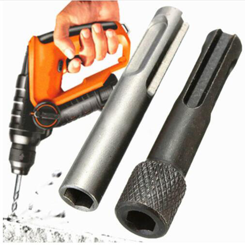 High Quality 1cm Diam Hex Shank Drill Bit Chuck Adapter SDS Converter Adapter Nut Impact Driver Set For Drilling Tools