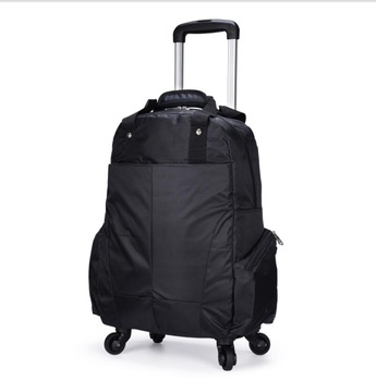 Travel Trolley backpack bag wheels luggage bags for Women Trolley Backpack 20 Inch Wheeled Backpacks cabin size Carry-on Bags