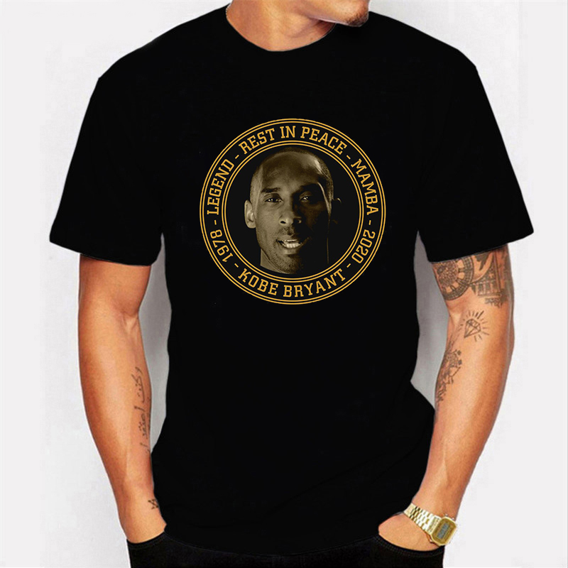 Rip Black Mamba Out Kobe Bryant T Shirt Men 2020 Summer Harajuku Tshirt Short Sleeve O-neck Men/women T-shirt  Streetwear Male