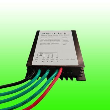 2020Hot Sale 300/400/500/600/700/800W 12V/24V Waterproof Wind Turbine Charge Controller Wind Generator Regulator Wind Controller