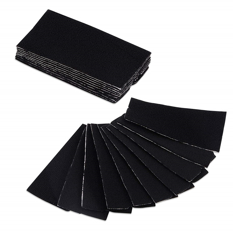 10Pcs/set Vinyl Film Car Wrap Felt Fabric For 10cm Squeegee Auto Window Tint Tool Clean Scraper No Scratch Felt Cloth Edge